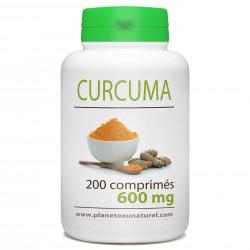 Curcuma - 600 mg - 200 comprimés