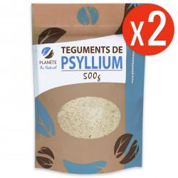 Psyllium Blond Téguments 500 gr x 2