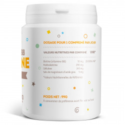 Vitamine B8 Biotine 10 000 µg 180 comprimés